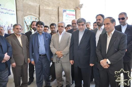 ورود وزیر فرهنگ و ارشاد اسلامی به کهن شهر سبزوار