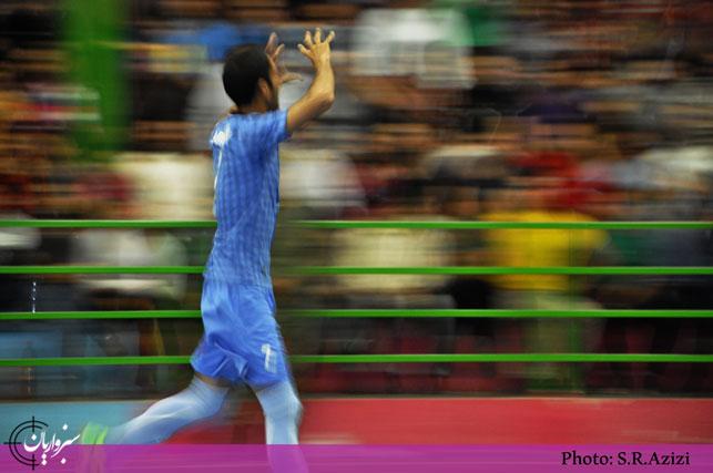 گزارش تصویری: فینال مسابقات فوتسال جام رمضان