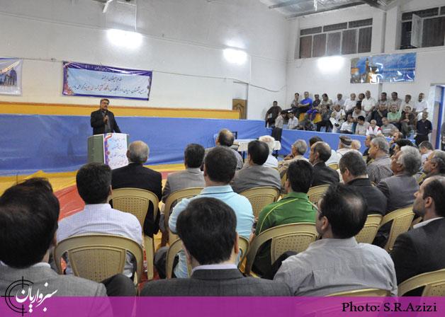 تجلیل از برگزارکنندگان همایش ملی ورزش و سلامت