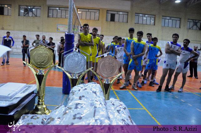 گزارش تصویری: فینال مسابقات والیبال جام رمضان