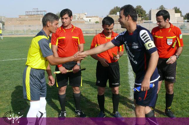 گزارش تصویری: لیگ برتر فوتبال سبزوار(هفته چهارم)