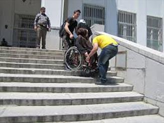 مناسب سازی معابر شهری یکی از دغدغه های معلولان