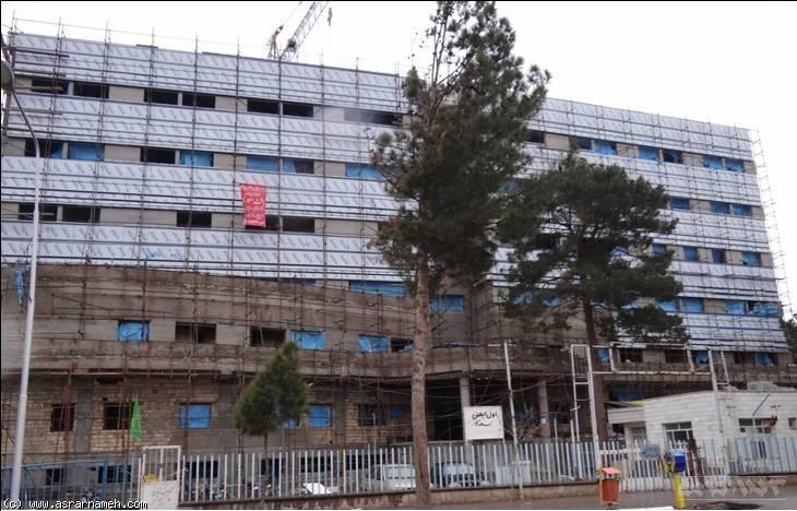 نسخه پر اشتباه بیمارستان حشمتیه سبزوار