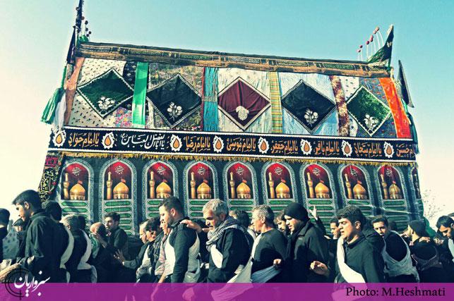 گزارش تصویری: مراسم روز عاشورای حسینی در مزینان
