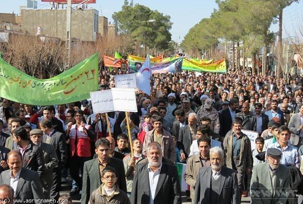 تغییر مسیر راهپیمایی ها از مسجد به میدان!