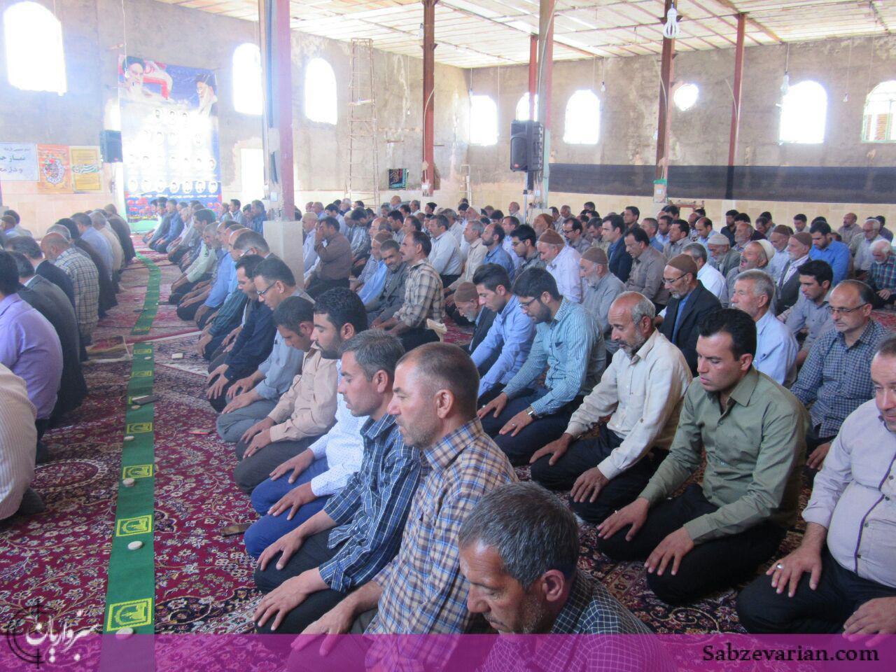 گزارش تصویری: برگزاری نماز جمعه ششتمد