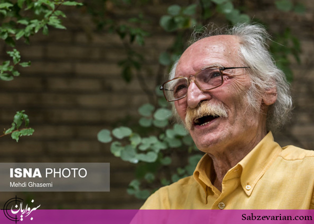 با محمود دولتآبادی در ۷۷سالگی