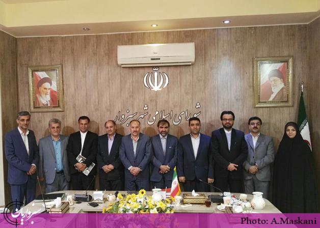 انتخاب رؤسای کمیسیونهای تخصصی شورای اسلامی شهر سبزوار