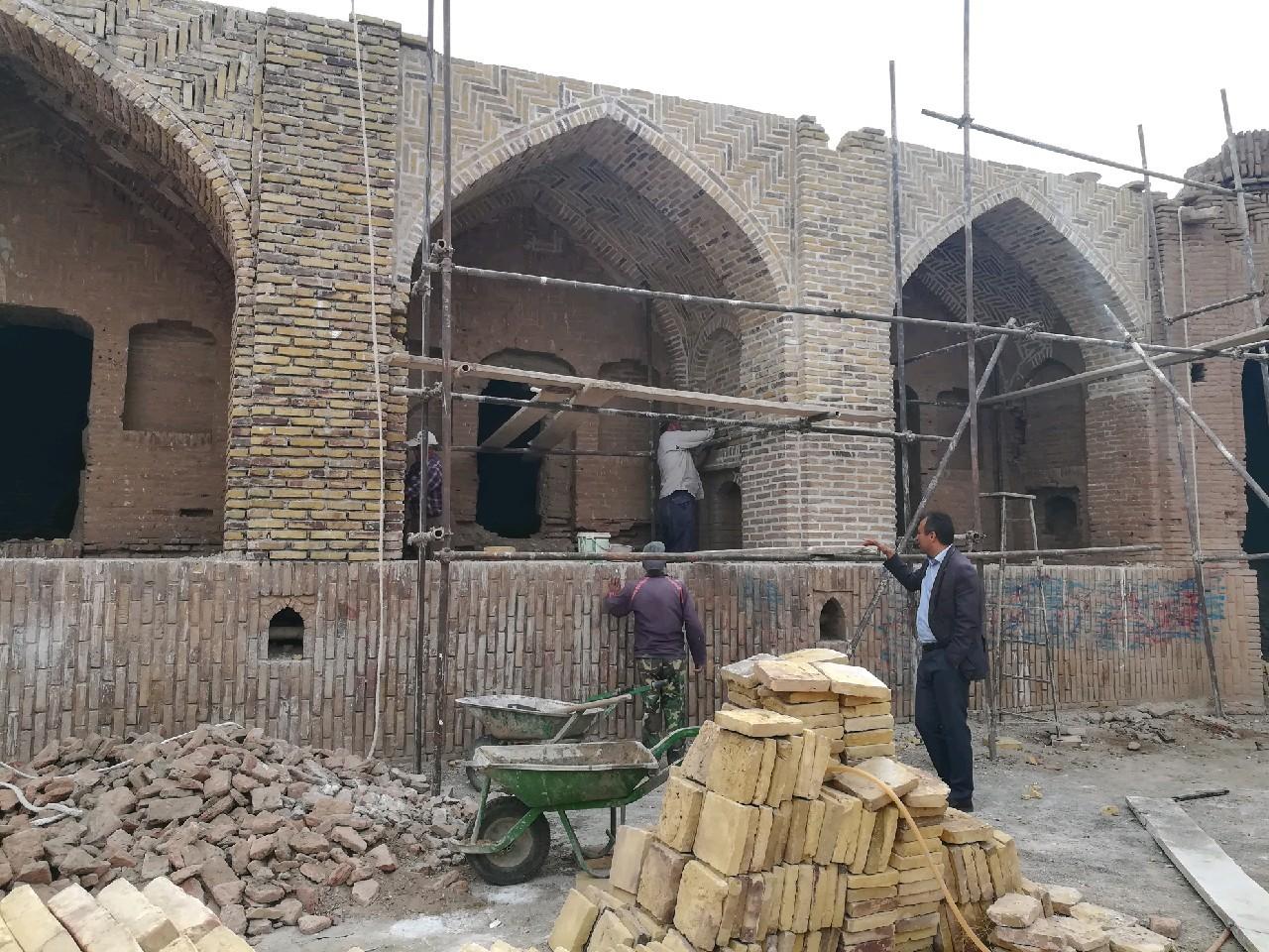 بازپیرایی بافت تاریخی روستای زعفرانیه سبزوار