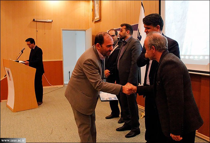 قدردانی از پژوهشگران برتر دانشگاه آزاد اسلامی سبزوار