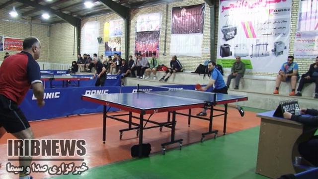 پایان مسابقات تنیس روی میز استان های خراسان شمالی و رضوی