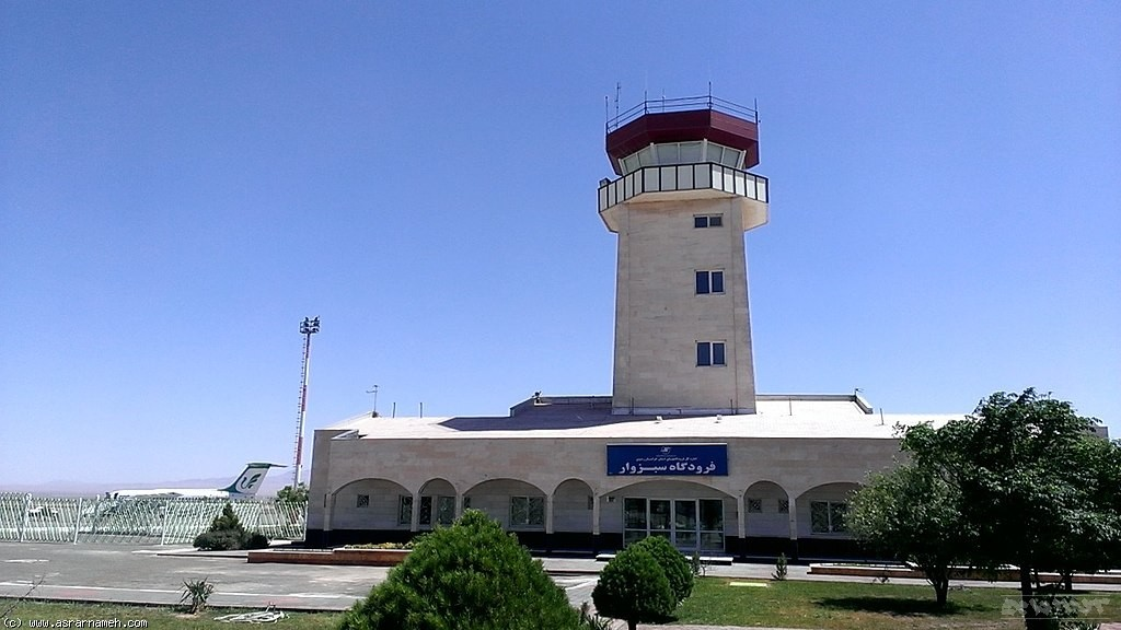 فرودگاه سبزوار پشتیبان فرودگاه شهید هاشمی نژاد مشهد می شود