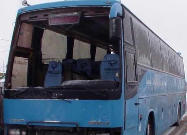 توقیف اتوبوس حامل کالای قاچاق در سبزوار