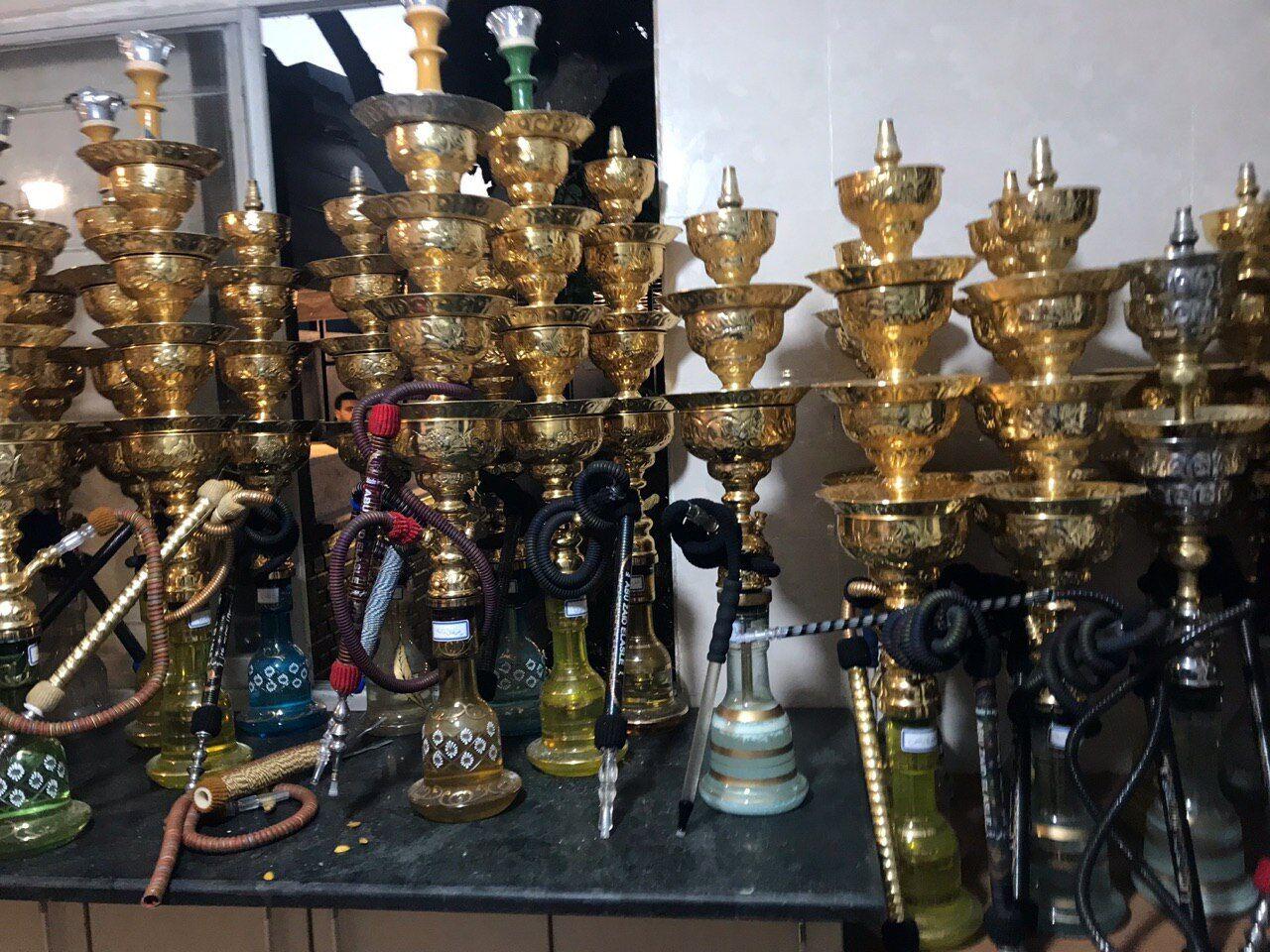 ۴۱۰ قلیان از چایخانههای متخلف سبزوار جمعآوری شد