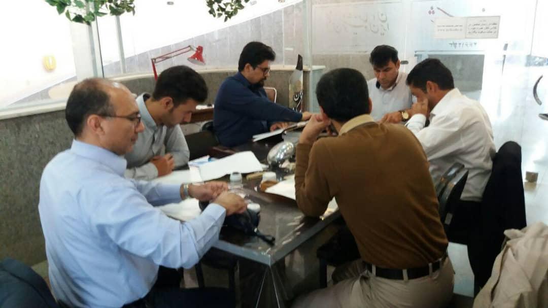 برگزاری آزمون پایان دوره انجمن خوشنویسان در سبزوار