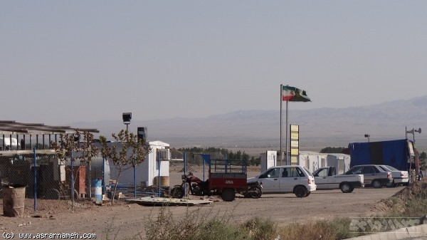 فعالیتها در کارگاه ساخت ایستگاه راهآهن سبزوار