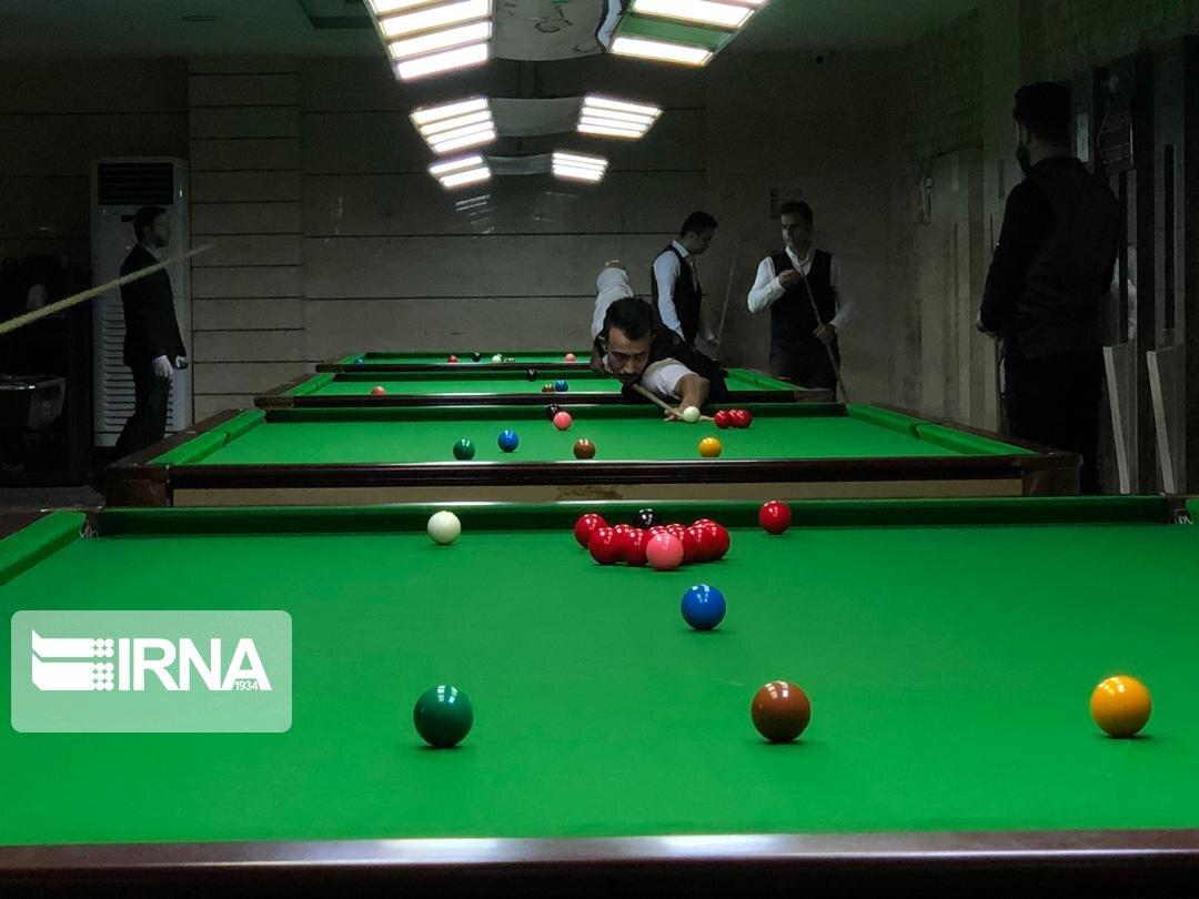 مسابقات منطقهای بیلیارد در سبزوار برگزار شد