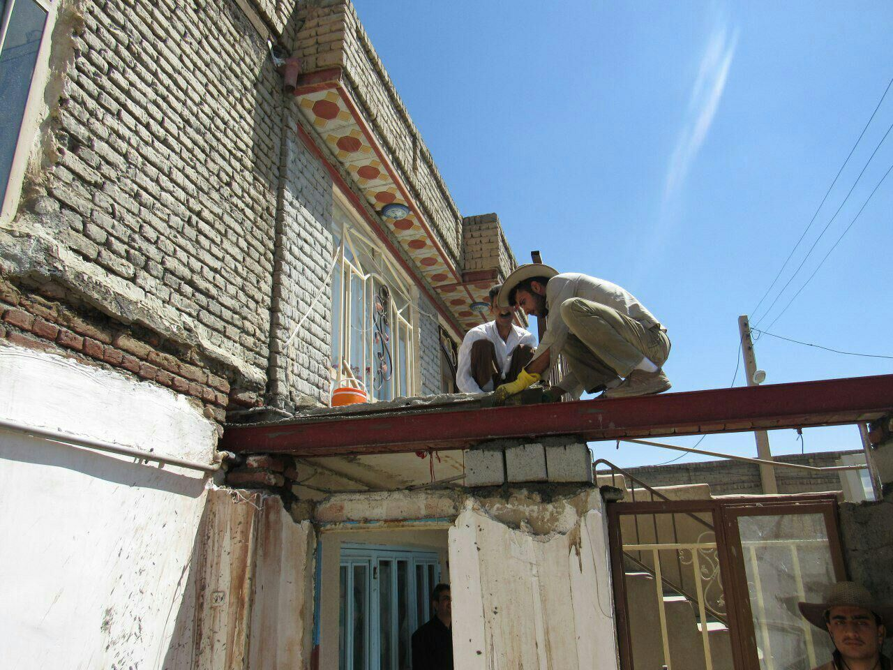 ۱۴۵ واحد مسکونی مددجویان کمیته امداد در جغتای مقاومسازی شد
