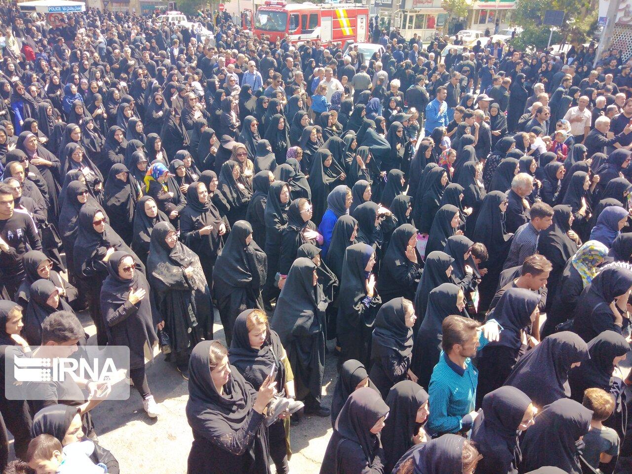 تجمع بزرگ رهروان زینبی در سبزوار برگزار شد