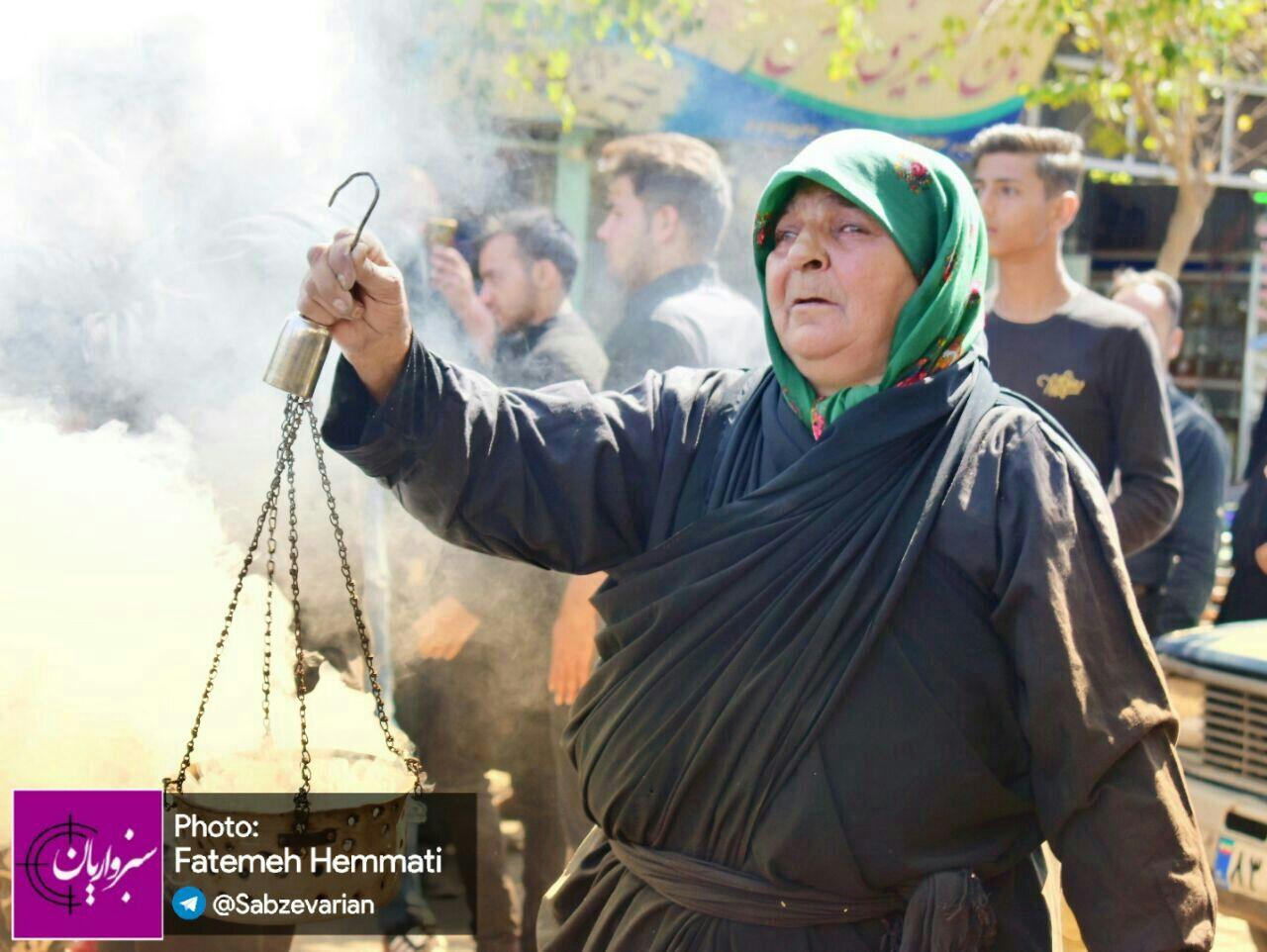 گزارش تصویری از مراسم عزاداری مردم سبزوار در روز یازدهم محرم
