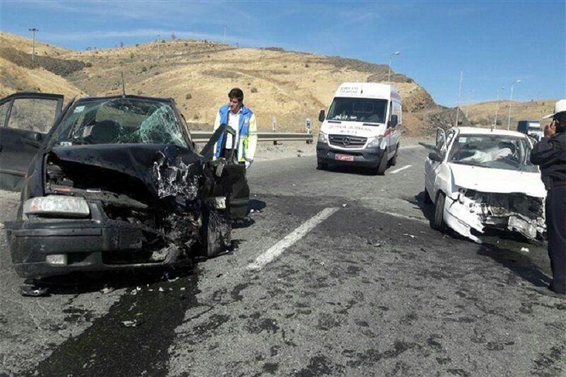 ۲ سانحه رانندگی در سبزوار ۱۲ مصدوم داشت