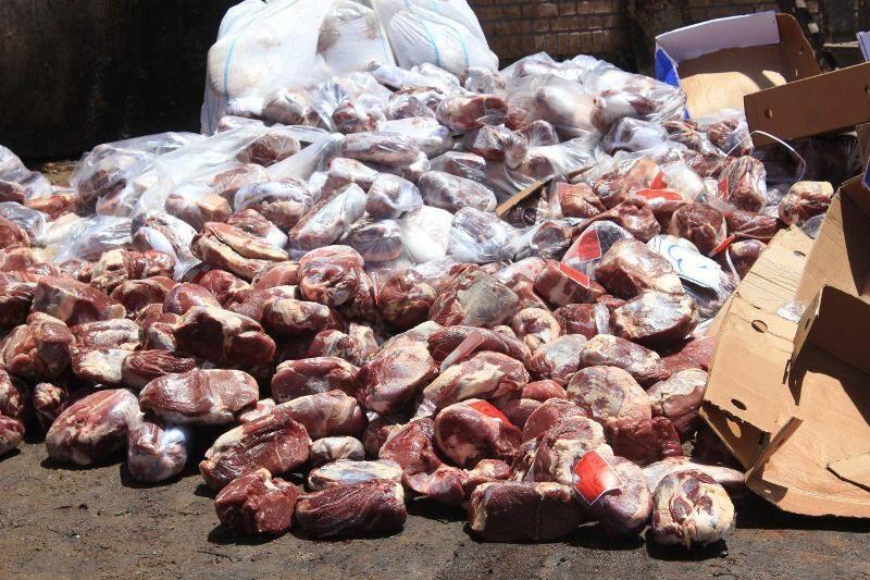 ۷.۵ تن گوشت فاسد در سبزوار معدوم شد
