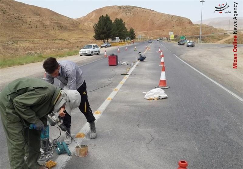 اجرای طرح موتور ایمن در روستاها و در جهت پیشگیری از تصادفات / ایمن سازی پل بتنی رودخانه کهنه و جاده روستای جبله نو