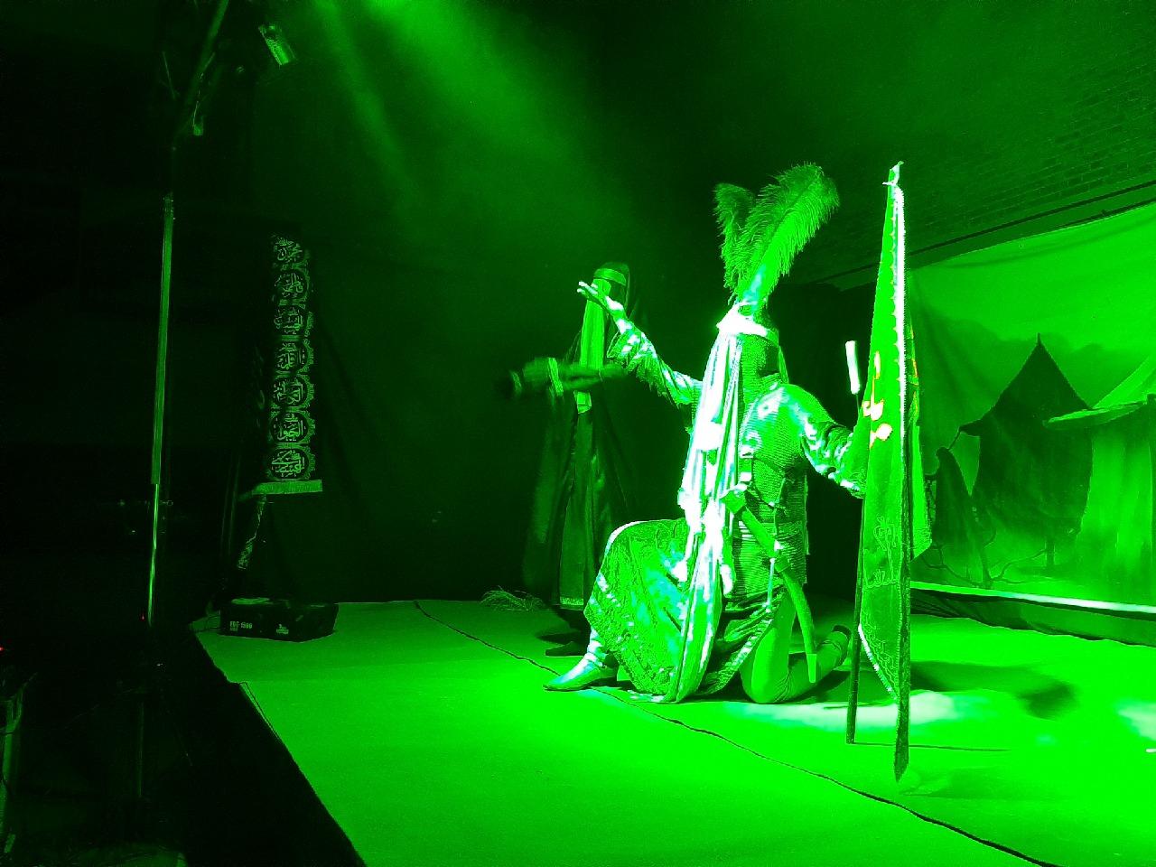 اجرای نمایشنامه «بصیرت عاشورایی» در جغتای