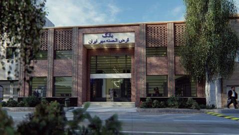 آغاز پروژه نماسازی بانک مهر ایران واقع در بافت تاریخی سبزوار