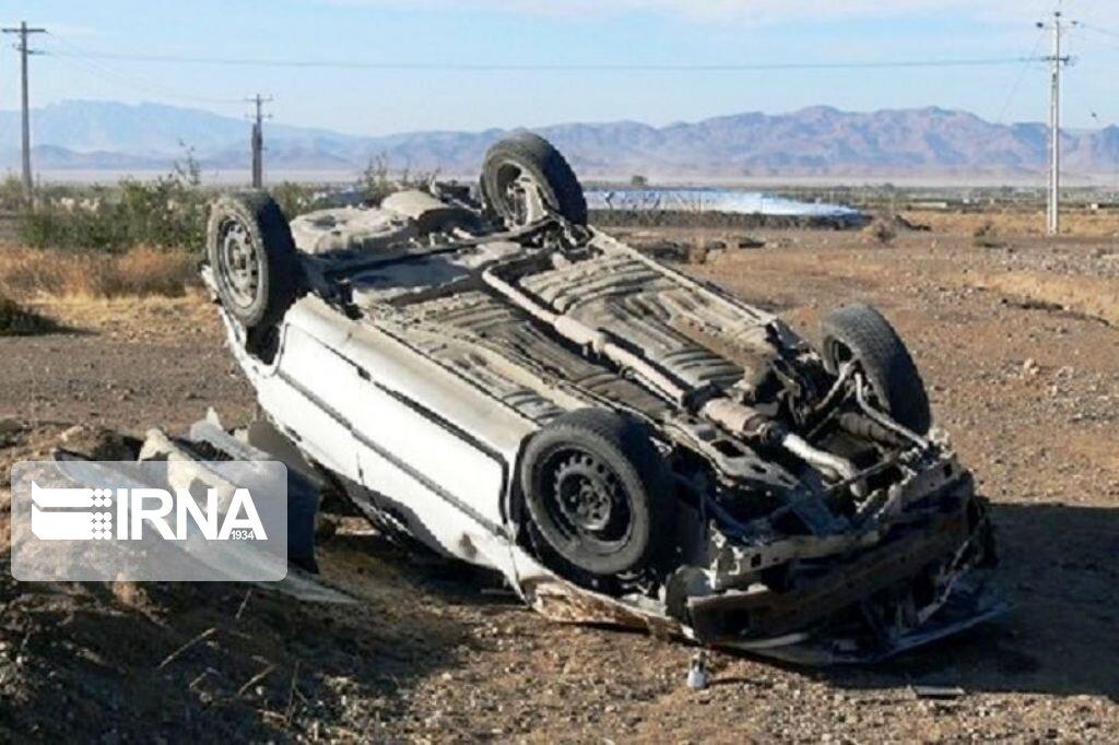 واژگونی خودرو در سبزوار قربانی گرفت