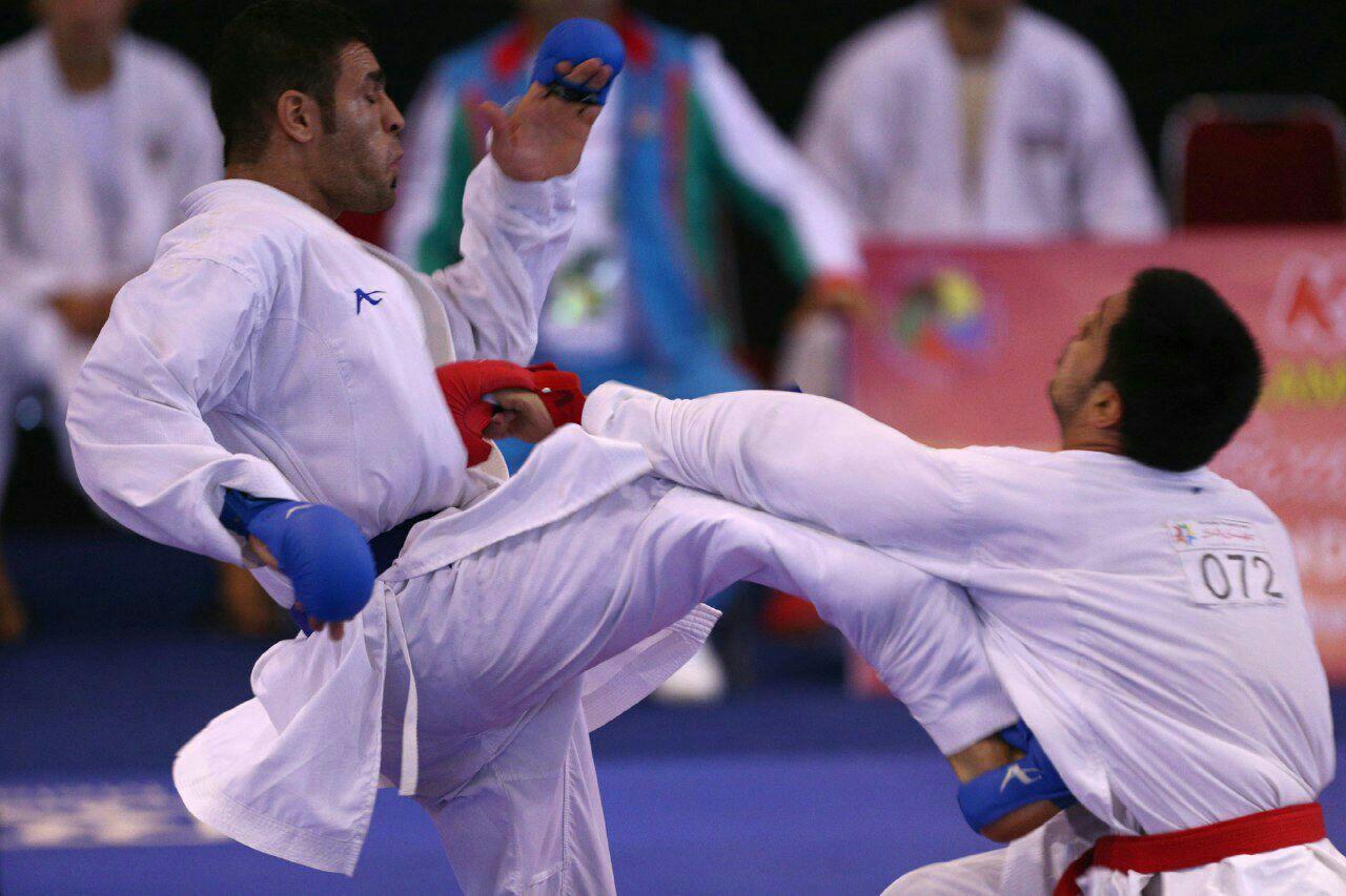 درخشش کاراته کاهای سبک شوتوکان سبزوار در پانزدهمین دوره مسابقات بینالمللی کاراته