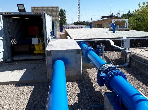 افتتاح و آغاز ساخت سه طرح آب و فاضلاب شهری در سبزوار