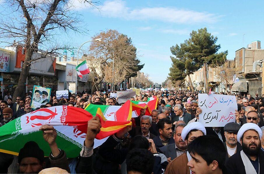 فرماندار سبزوار: راهپیمایی ۲۲ بهمن دشمن را از دخالت در انتخابات مأیوس کرد