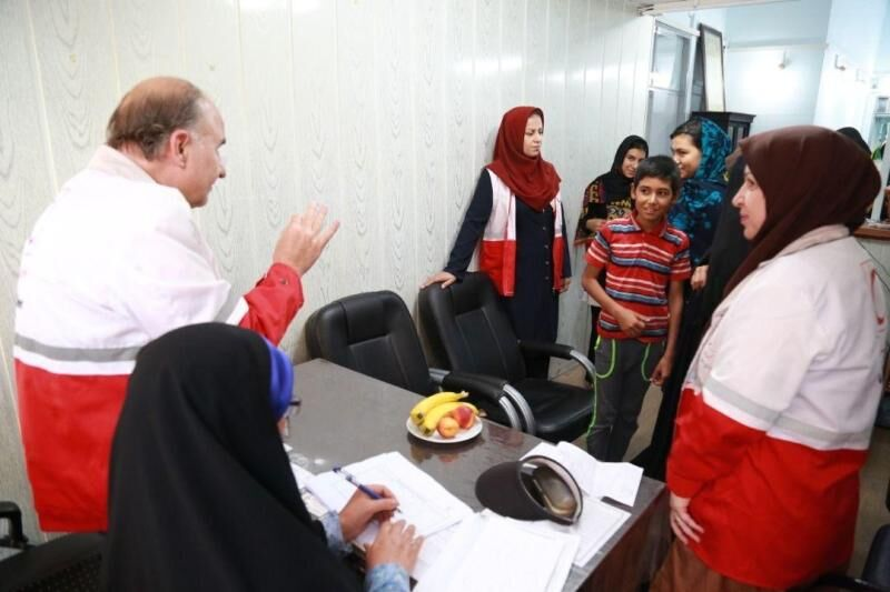 دفتر نمایندگی جمعیت هلالاحمر خوشاب فعال شد