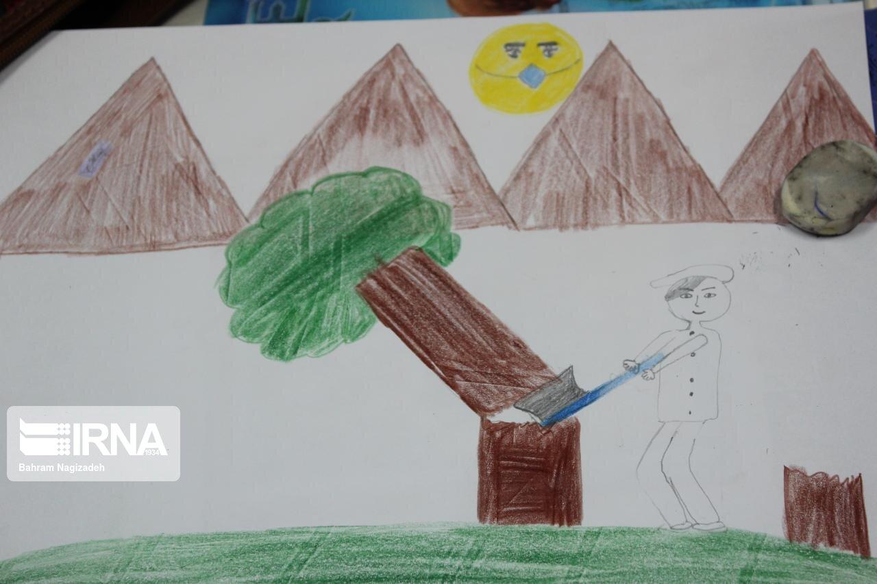 جشنواره نقاشی کودکان در سبزوار برگزار شد