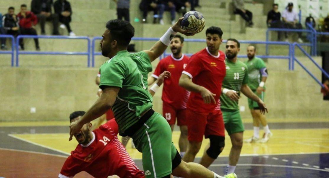تیم هندبال ذوبآهن اصفهان بر سربداران سبزوار غلبه کرد