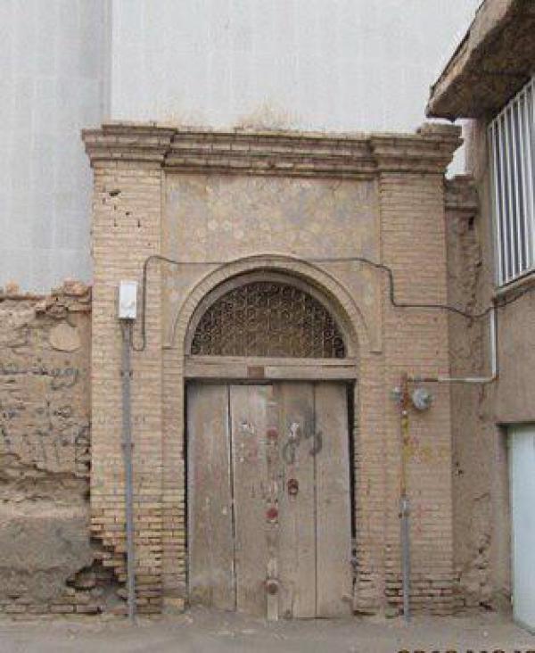سردرب ورودی قدیمیترین بیمارستان سبزوار حفاظت و مرمت میشود