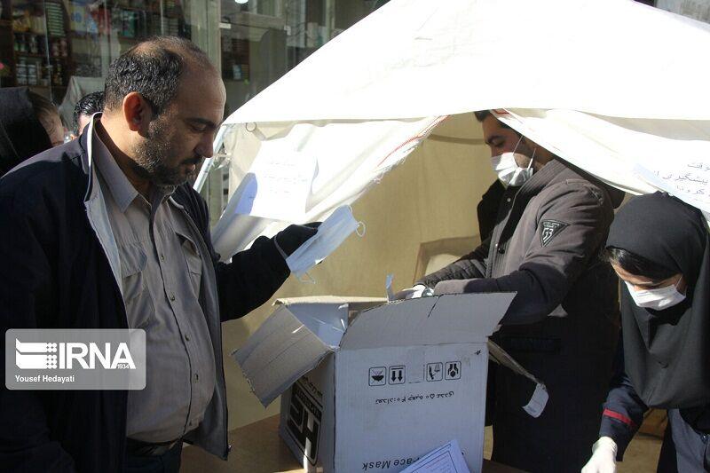 ستاد بازسازی عتبات عالیات سبزوار ایستگاه سلامت برپا کرد