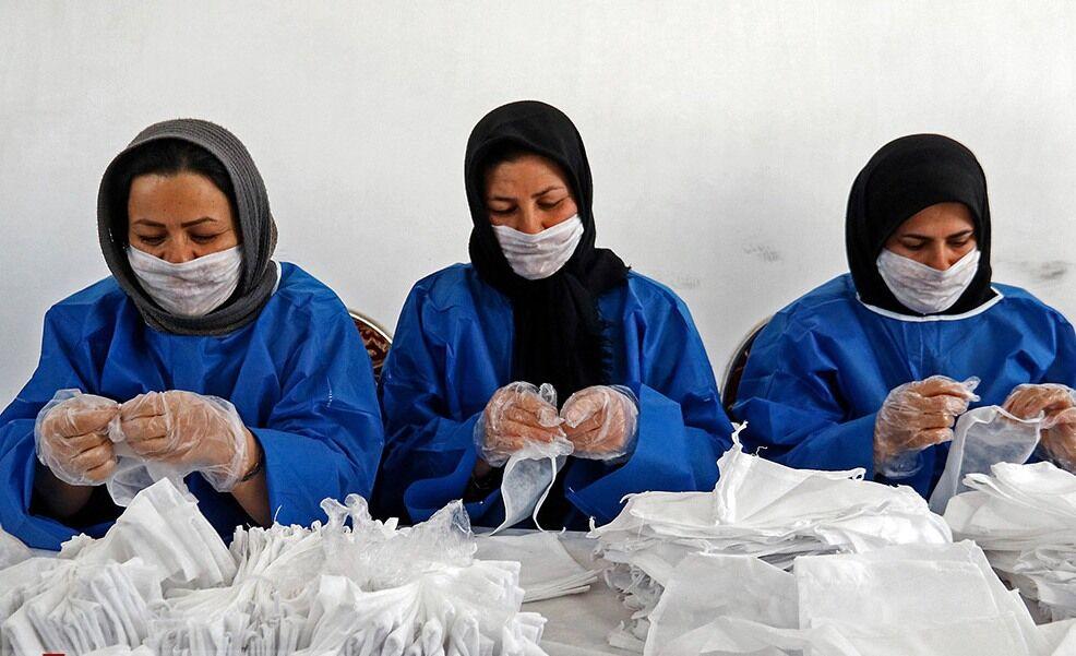 روزانه دو هزار ماسک در سبزوار تولید میشود