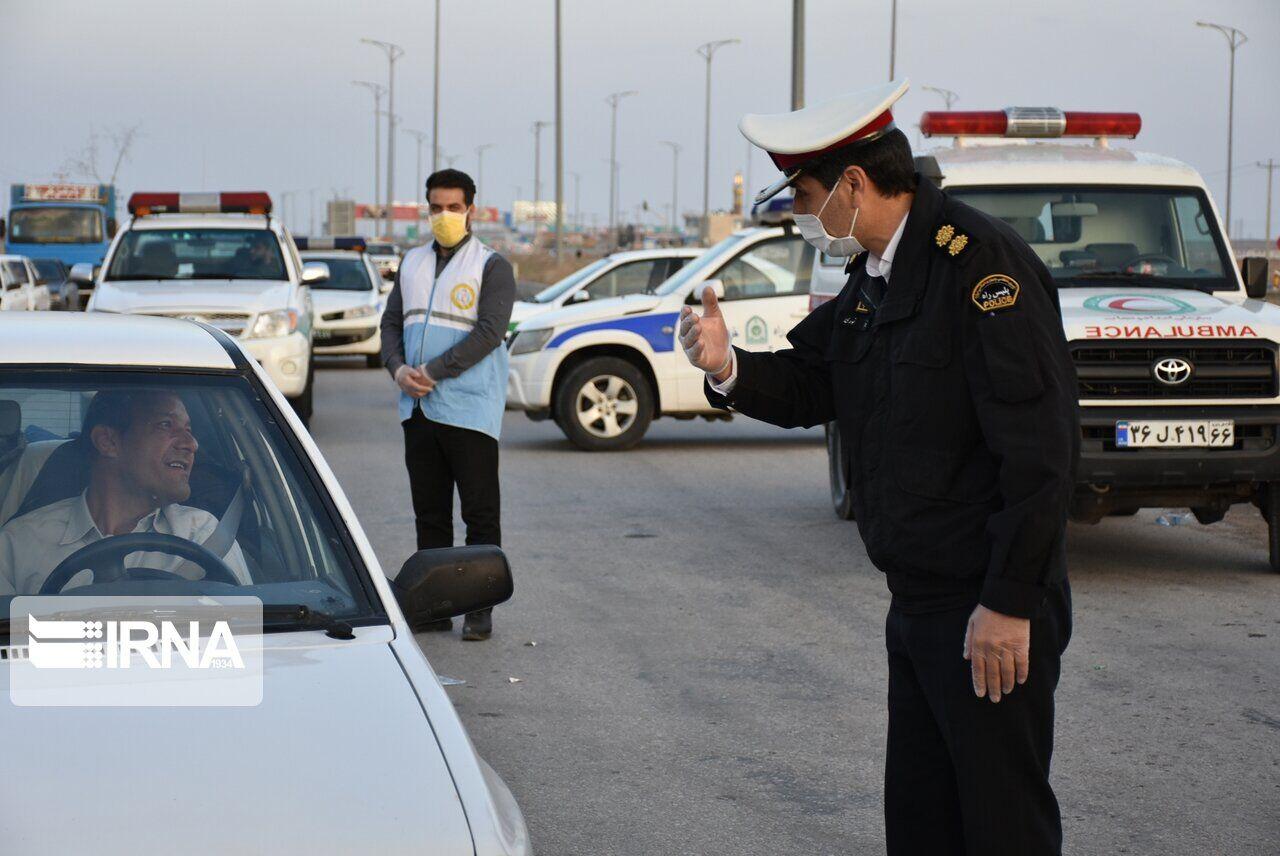 ۴۵۰ دستگاه خودرو از ورودیهای خوشاب بازگردانده شد