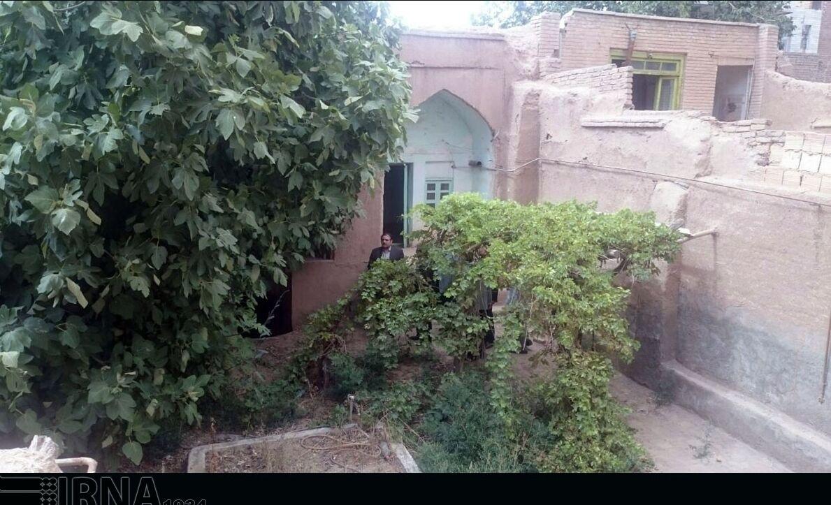 بخشی از خانه مرحوم استاد حمید سبزواری تخریب شد