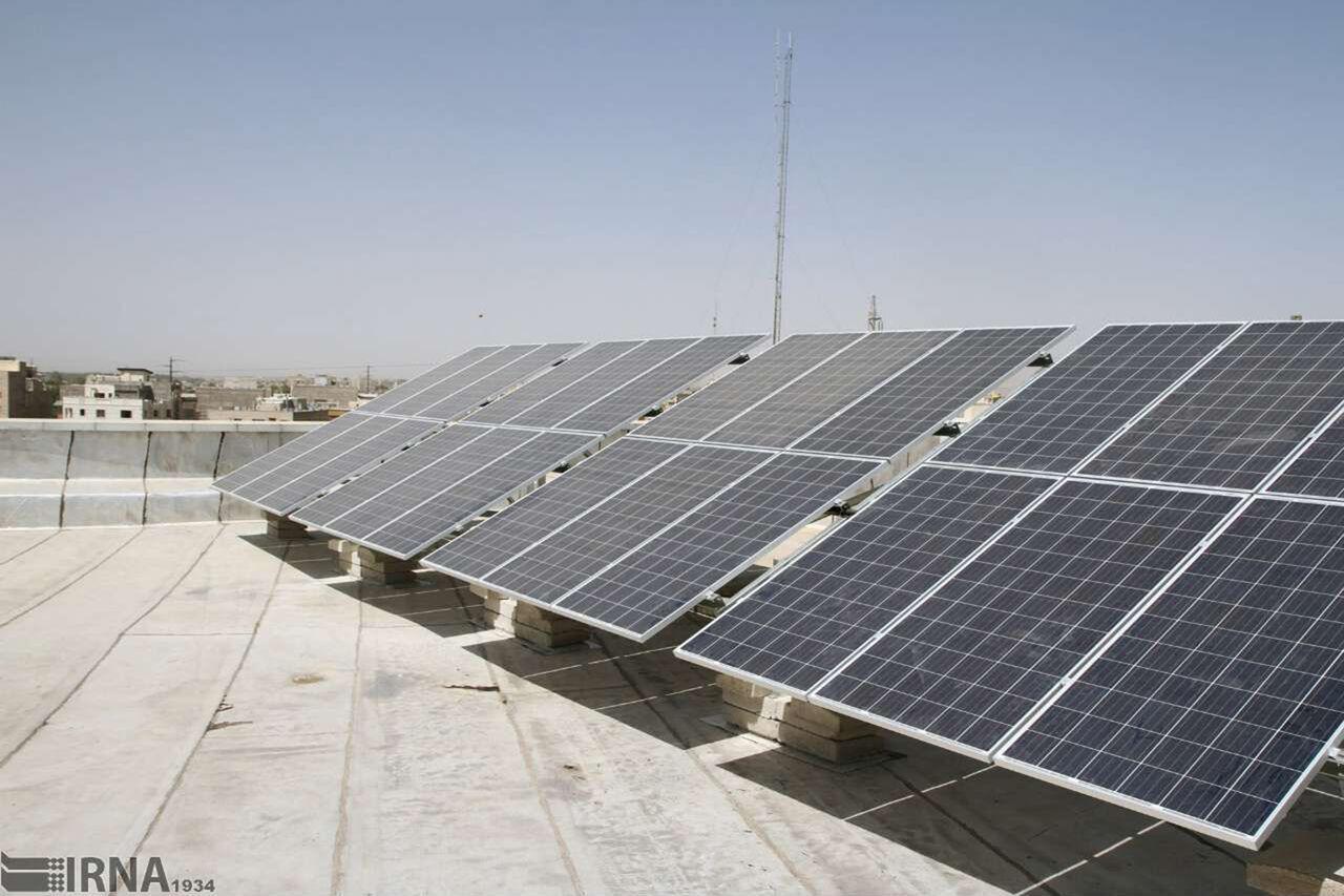 دو نیروگاه خورشیدی در داورزن راهاندازی شد