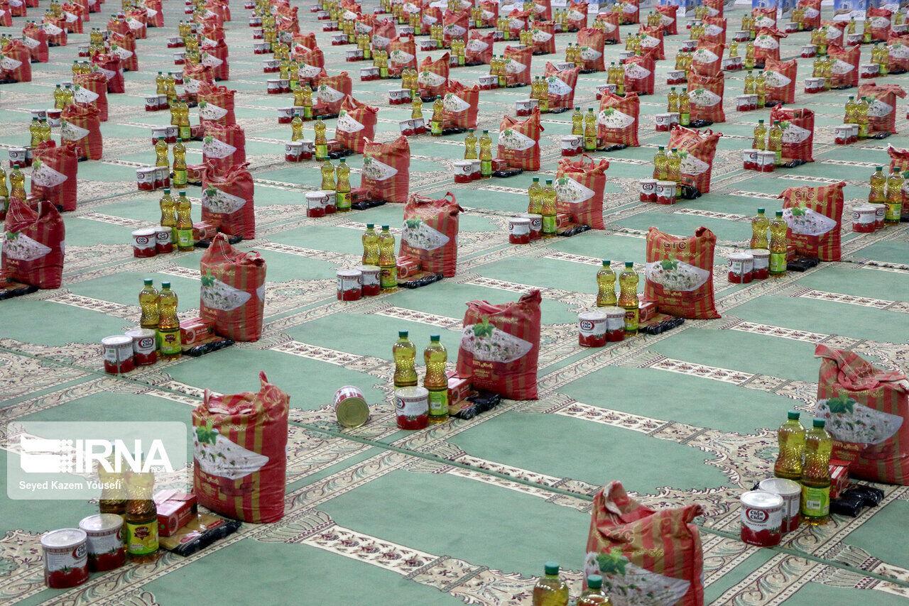 ۳۵۰۰ بسته معیشتی بین نیازمندان سبزوار توزیع شد