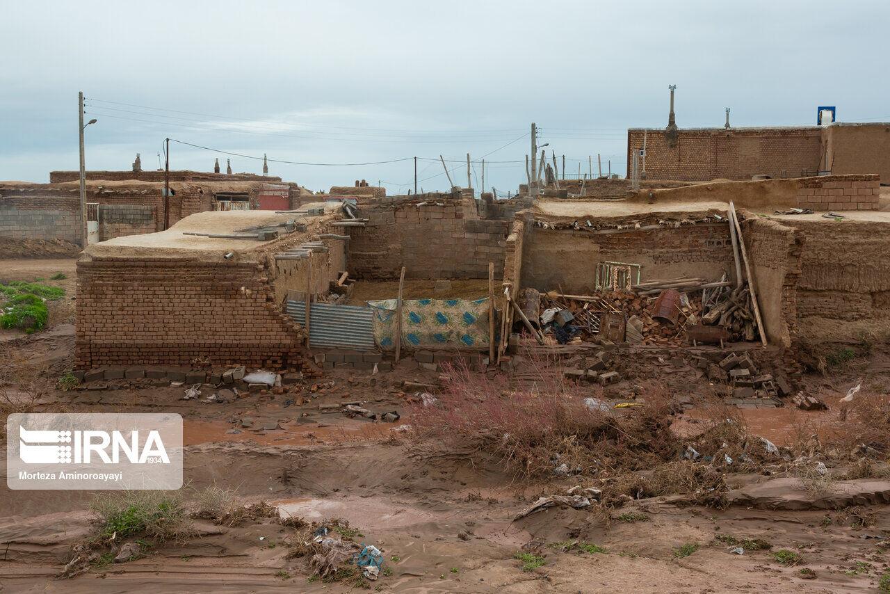 سیل به ۱۰۳ واحد مسکونی داورزن در خراسان رضوی آسیب زد