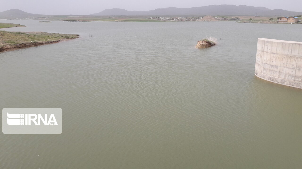 حجم آب سد سنگرد سبزوار چهار میلیون مترمکعب بیشتر شد