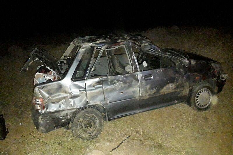 سقوط خودرو به درهای در سبزوار ۴ مصدوم برجای گذاشت