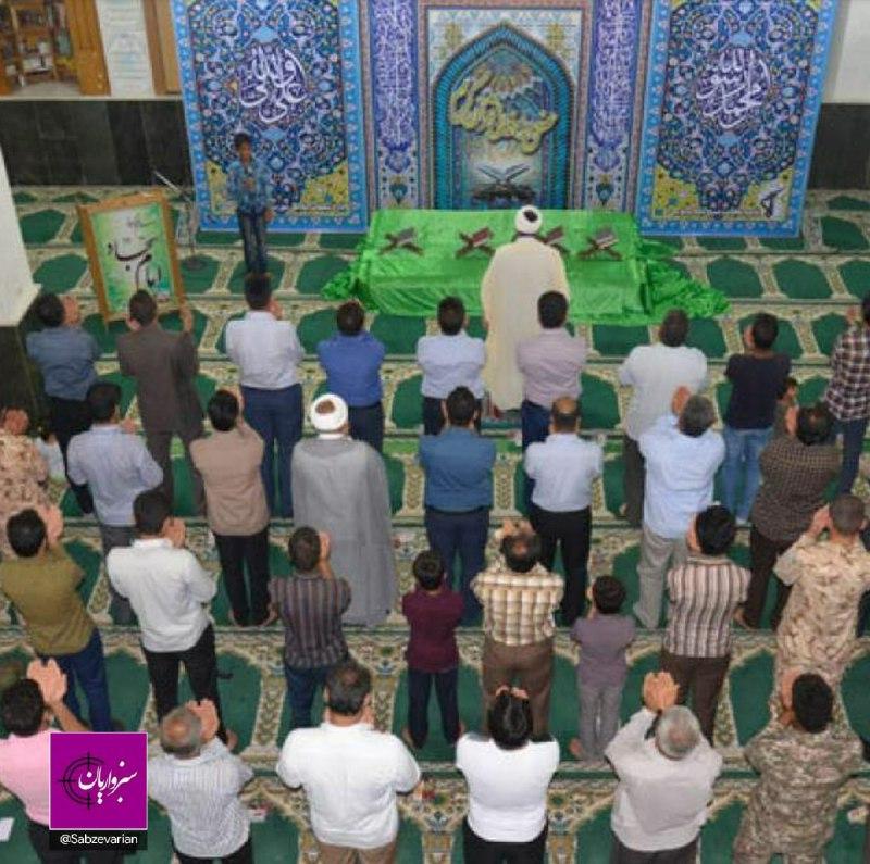 نماز عید فطر در مساجد و مصلای سبزوار برگزار میشود