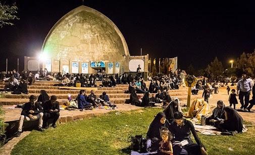 برگزاری مراسم شبهای قدر در مکانهای روباز در سبزوار