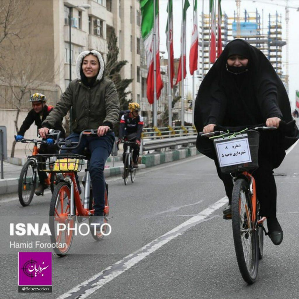 مصوبه مربوط به دوچرخهسواری زنان در سبزوار، انتقادها را برانگیخت